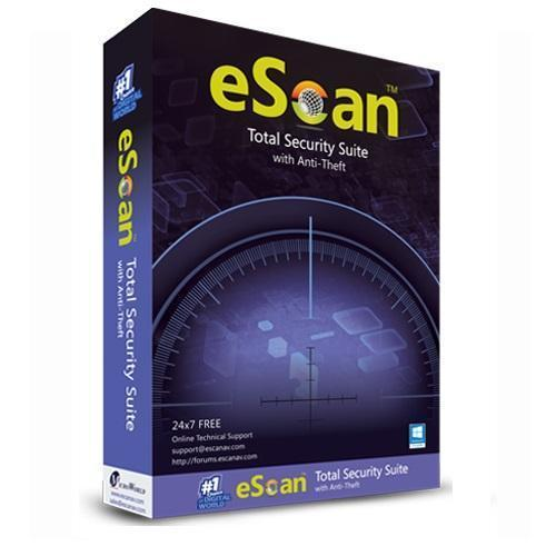 eScan Total Security Suite 1 User 1 Year - Cloud Edition