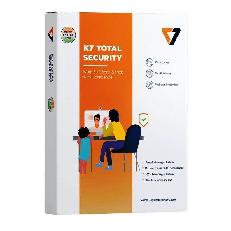 K7 Total Security 1 User - 1 Year