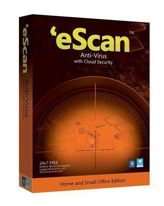 eScan Anti-Virus 1 User - 3 Years with Cloud Security